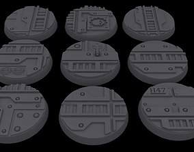 3D printable model Warhammer 40k - Necromunda 32mm Bases