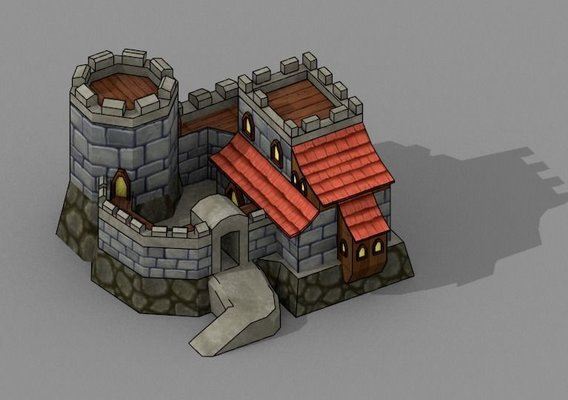 Mini Fort [Low Poly]
