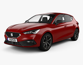 Seat Leon FR 5-door hatchback 2020 3D model