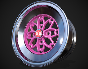 3D model Techno Racing Hayashi Yayoi