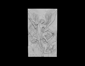 The Archangel Michael Triumphing Over Satan 3D print model