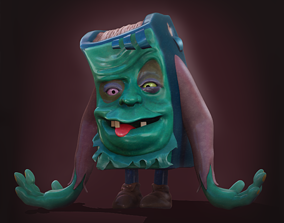 Horror from The Pagemaster Character Sculpt 3D Print