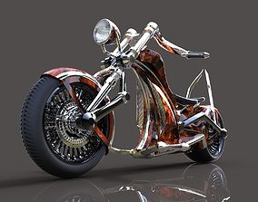 Electric chopper 3D