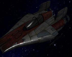 3D model STAR WARS - A-WING FIGHTER