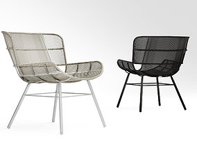 3D model Coco Republic Amalfi outdoor lounge chair