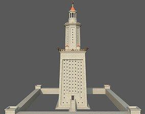 Lighthouse of Alexandria 3D model