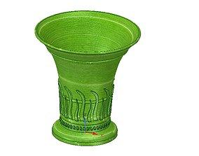 vase cup vessel v24 for 3d-print or cnc