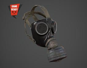 3D asset Gas Mask PBR GameReady