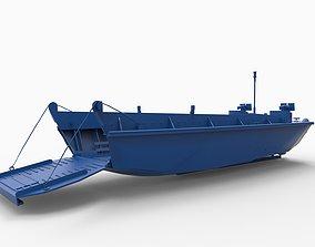 LCVP ship 3D printable model