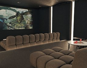 3D model Home Cinema Room