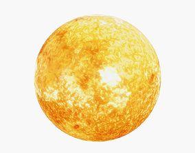 Sun Star 3D asset