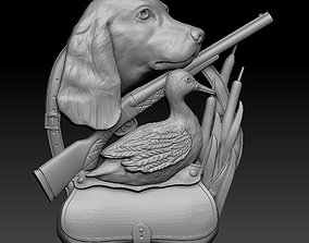 3D printable model hunter