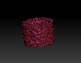 3D printable model well shape Flowerpot