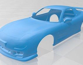 Mazda RX 7 Printable Body Car printable