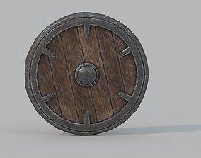 Shield Low Poly PBR 3D model