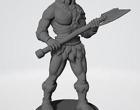 THE BARBARIAN 3D print model