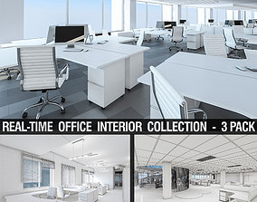 Office Interior Collection - 3 Pack 3D model