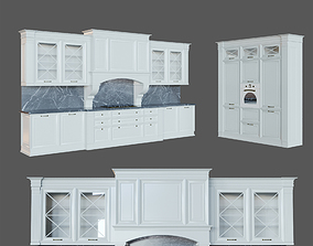 Kitchen Milan classic 3D model