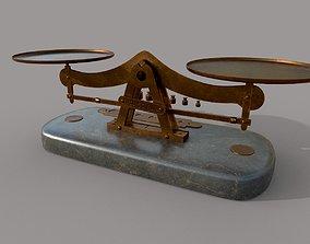 3D asset VR / AR ready Balance Scale