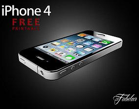 iphone 4 FREE printable