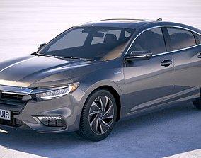 Honda Insight 2019 3D saloon