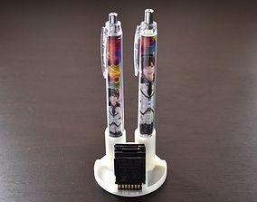 Display Type Pen Stand 3D print model