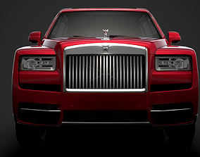 3D model Rolls Royce Cullinan 2020