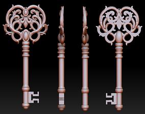 Key pendant 3D print model