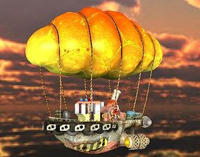 3D model Steam Punk Tug Boat