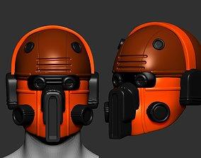 fi lavatory helmet high poly sculpt 3d printable