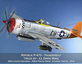 Republic P-47D Thunderbolt - Helen Jo 3D