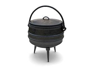 3D Iron Pot