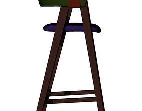Moroso Mathilda Bar Stool 3D