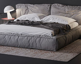 3D model Bonaldo fluff bed