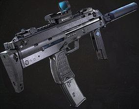 3D model Heckler Koch MP7A1 - Game Ready PBR Asset