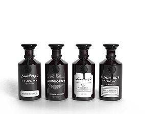 Lundborg Perfume Bottles 3D