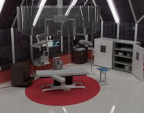 3D model reanimtion room