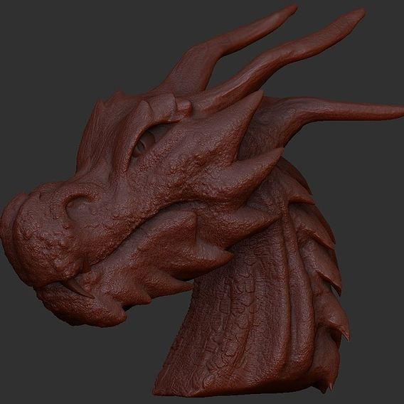 Dragon Head Sculpture (beta)