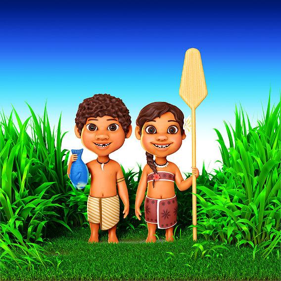 Island characters
