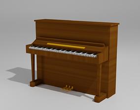 piano pianino 3D asset