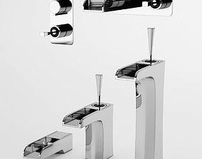3D Colston Eden faucet set