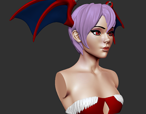 Bust - Lilith Aensland 3D print model