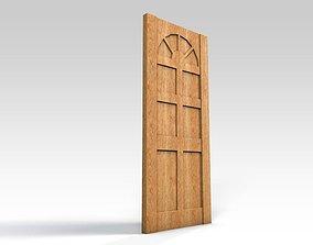 Entrance door - no window 3D model