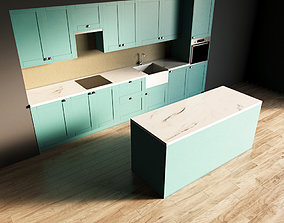3D model 106-Kitchen10 matte 9