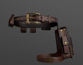 3D model fashion Bags set