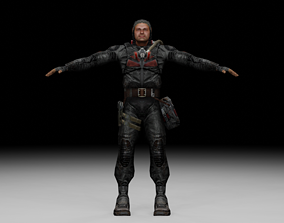 3D model Stalker - Duty Soldier 04