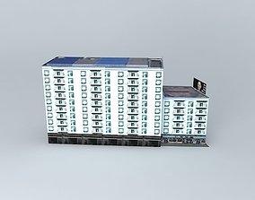 3D model Hankou Shanghai Pudong Development Bank
