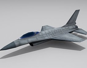 F-16 Fighting Falcon 3D asset