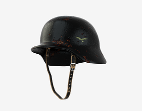 3D German Wehrmacht Helmet - WWII