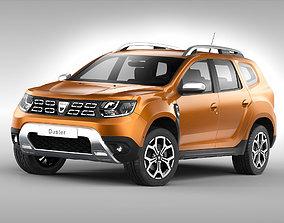 3D Dacia Duster 2018